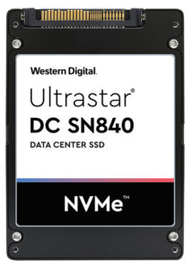 Western Digital Ultrastar DC Sn840 NVMe drive